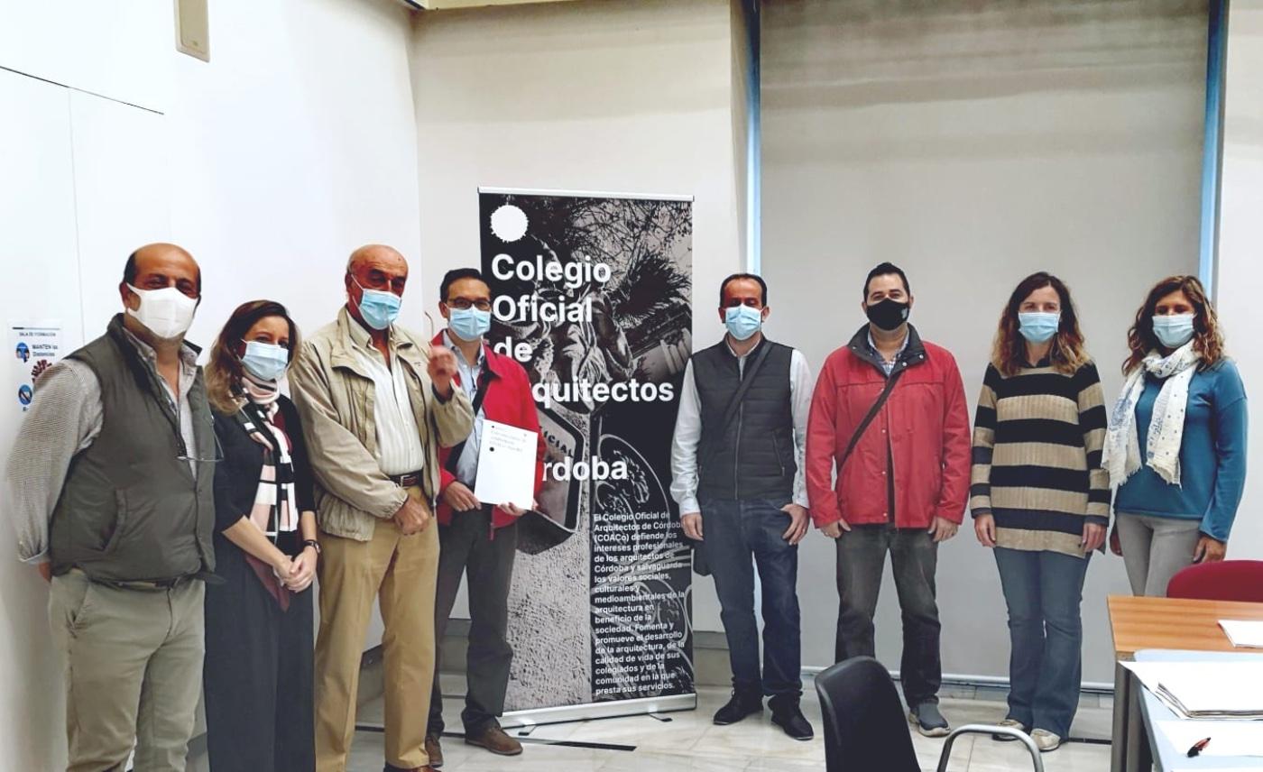 Convenio marco de colaboración técnica entre el Colegio de Arquitectos de Córdoba y la iniciativa GeoWE